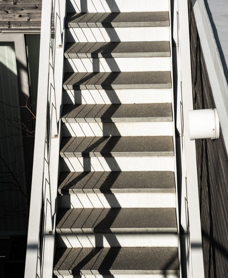 Stairs with shadows