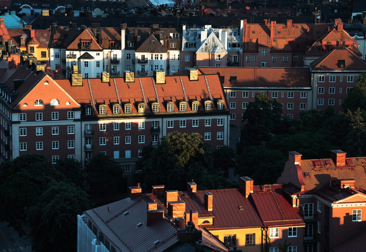 Rooftops in Stockholm