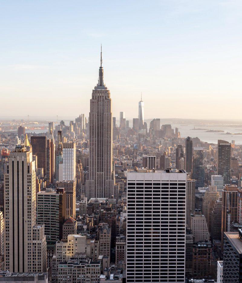 Vy över New York