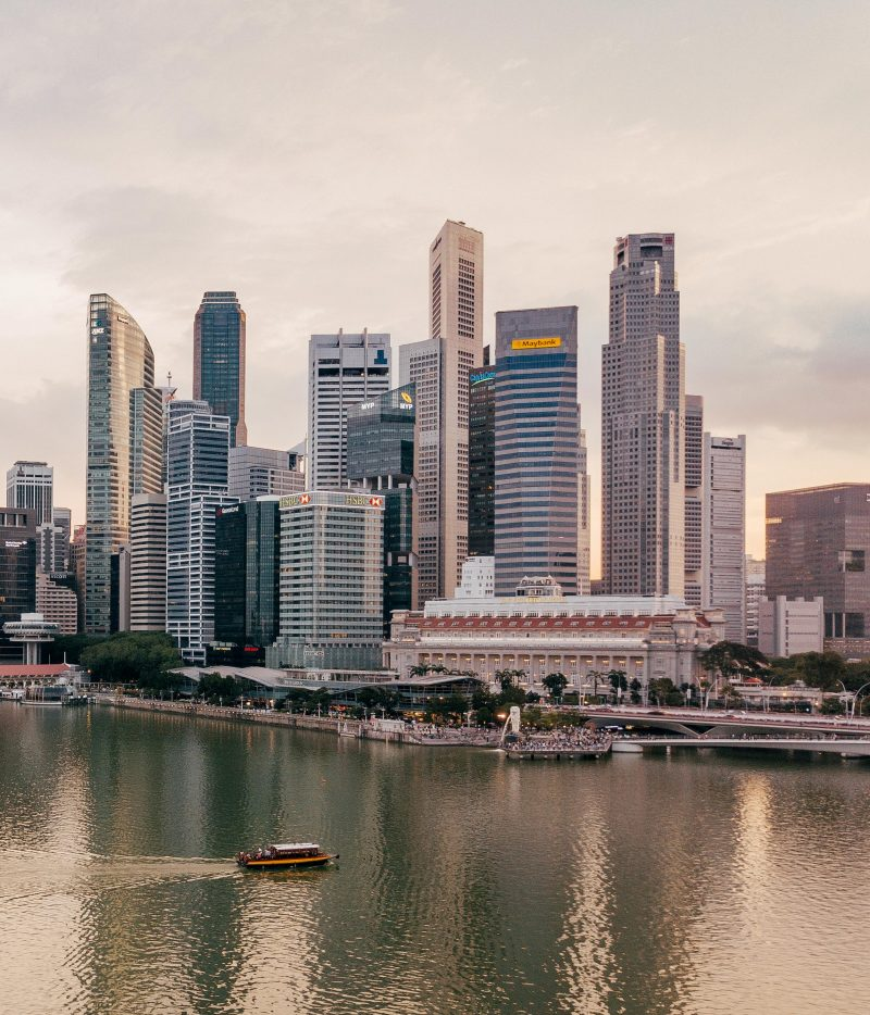 Finansdistrikt i Singapore