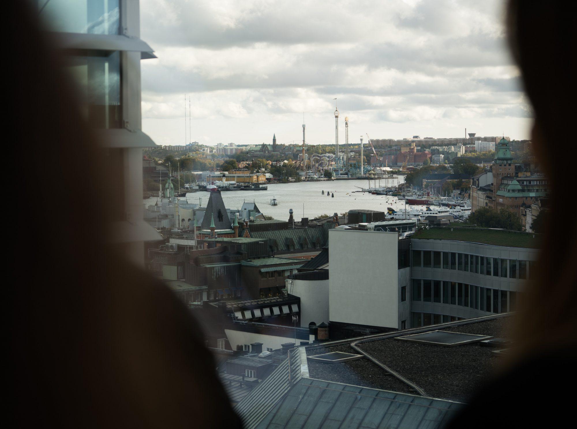 Vy över Stockholm Sverige