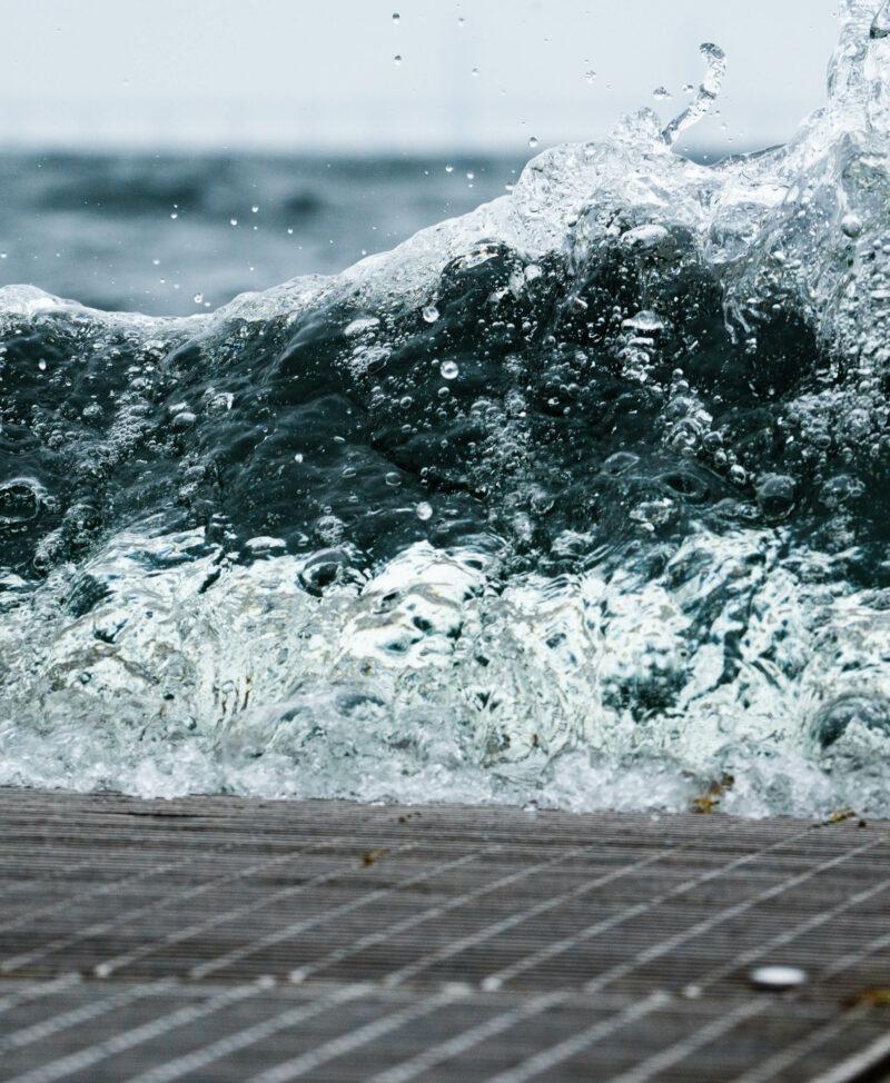 Närbild på vatten